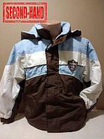 Куртка на мальчика 7-8лет. Зима;