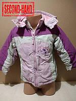Куртка на девочку 2-3года. Зима;