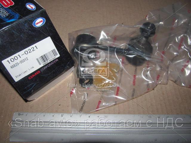 Стойка стабилизатора TOYOTA CORONA передний правый (производство GMB) (арт. 1001-0221), AAHZX