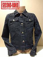 Куртка джинсовая на девочку 128/8лет. Весна, лето;