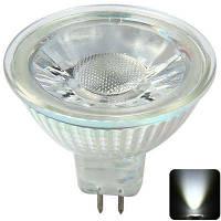 400LM MR16 4W 6000K COB Светодиодная лампочка для светодиодных ламп Холодный белый
