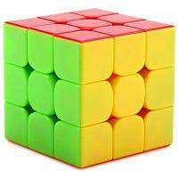 1386 3x3x3 Магический кубик Рубика (3 цвета) Разноцветный