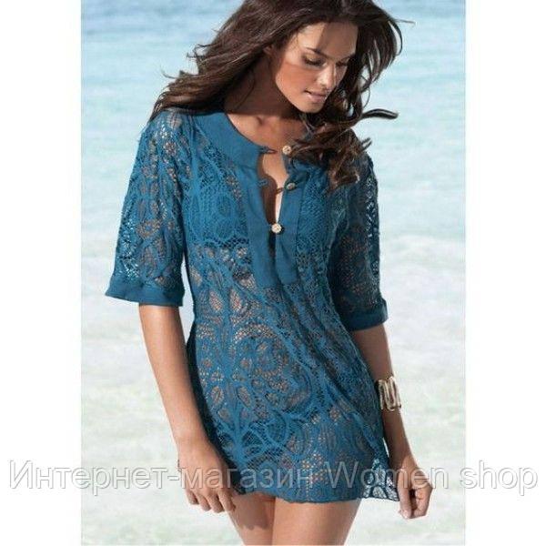 Роскошная вязаная блуза