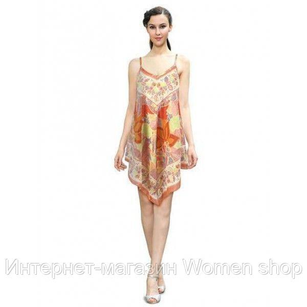 РАСПРОДАЖА! Легкое хлопчатобумажное летнее платье