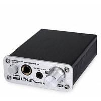 A907 Профессиональный 2-канальный с 3,5-мм / 6.5-мм аудиоразъемами усилитель звука для караоке Чёрный