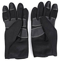 FLL Парные зимние ветрозащитные велосипедные перчатки с полными пальцами L