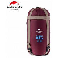 Naturehike сверхлегкий Кемпинг гаджеты 190 х 75см машины 320d нейлон спальный мешок мешок Красное вино