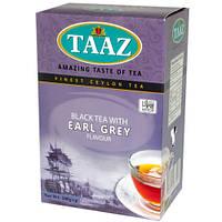 Черный цейлонский чай TAAZ EARL GREY (черный чай с бергамотом) 100г