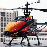 WLtoys V913 одиночный пропеллер 2.4G 4-канальный MEMS гироскоп RC вертолет воздушного потока небесный лидер вертолет дистанционного управления с