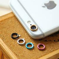 Защитное кольцо на заднюю камеру для iphone 6 6s