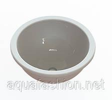 Раковина - чаша врезная круглая 40 см Snail Аврора