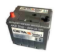 Автомобильный аккумулятор DETA Senator 3 6ст-65 А/ч JL+ DA 655