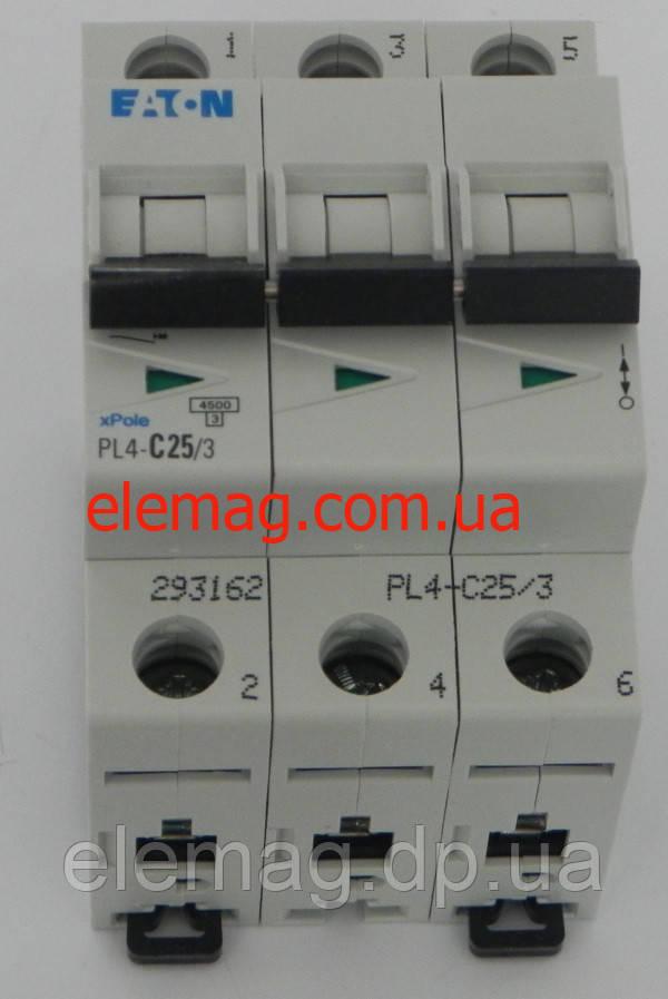 PL4-C25/3 Eaton (Moeller) Автоматический выключатель