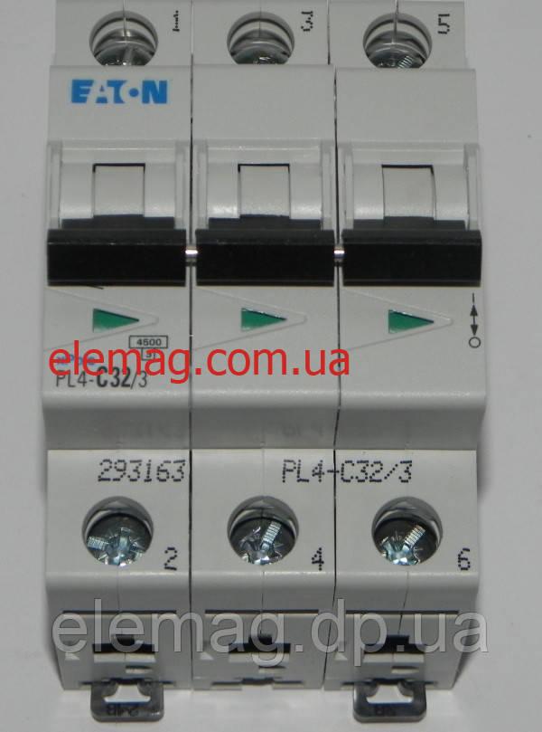 PL4-C32/3 Eaton (Moeller) Автоматический выключатель