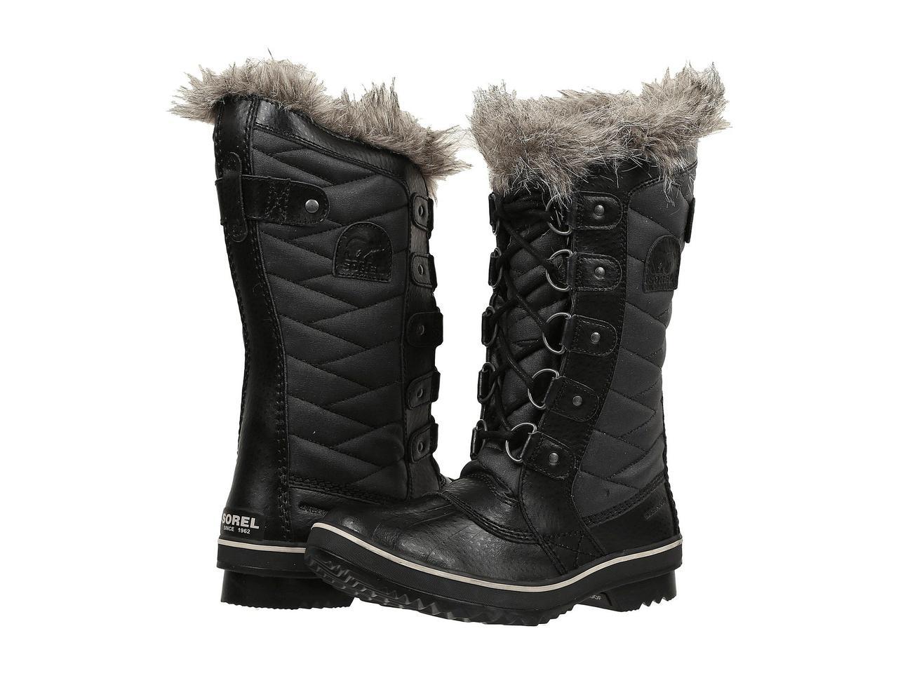 Ботинки Сапоги (Оригинал) SOREL Tofino II Black - TopUSA