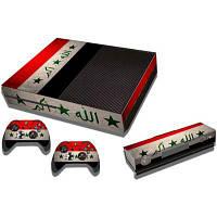 Звезда полосой шаблон стиля игровая приставка геймпад наклейка для Xbox один Как на изображении