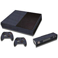 Игровая приставка геймпад полный тело наклейка для Xbox один Светло-синий