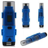 BSIDE BTH01 2-канальный датчик температуры и влажности точки росы регистратор данных с USB интерфейсом / LCD дисплеем Синий
