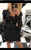 Платье Женское Короткое Вечернее Черное Paparazzi