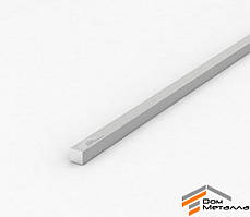 Полоса алюминиевая 10х10мм АД31 Т5 с покрытием AS