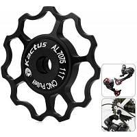 Kactus велосипед жокей колеса задний переключатель Шкив для Shimano и SRAM Чёрный