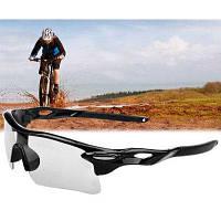 UV400 Взрывобезопасные спортивные солнцезащитные очки защитные очки для наружного применения Прозрачный