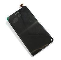 Дисплей (LCD) Nokia N9 Lumia с сенсором черный