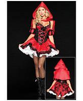 Шикарный ролевой костюм для взрослых Красная Шапочка