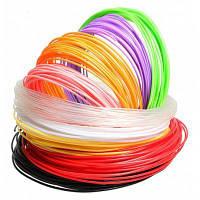 Sunlu набор PLA пластиков для 3D ручки, диаметр 1.75mm-10 м / шт Цветной