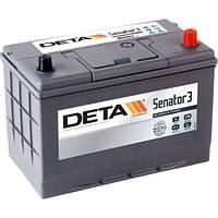 Автомобильный аккумулятор DETA Senator 3 6ст-100 А/ч JR+ DA 1004