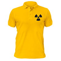 Футболка поло Радиация