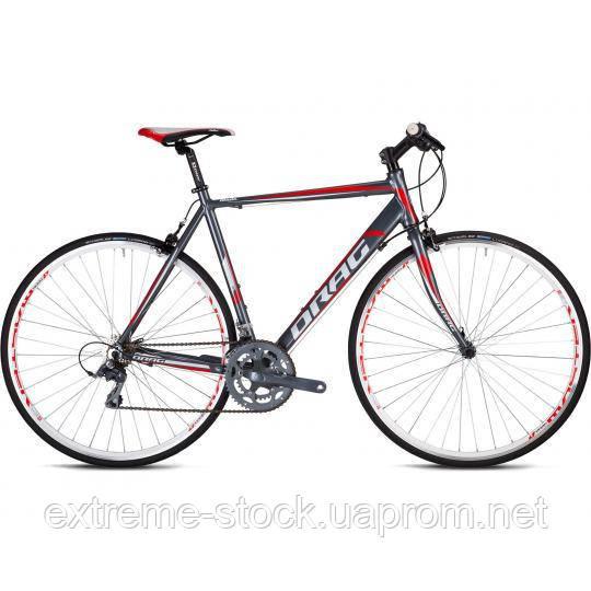 Велосипед Drag 28 Blade Flatbar C-38 560 Серо/Красный 2017