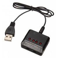 4 в 1 зарядное устройство+USB кабель для RC горючего Чёрный