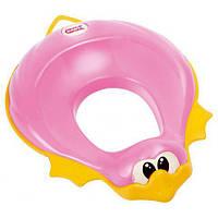 Накладка-сидение на унитаз OK Baby Ducka (розовый)
