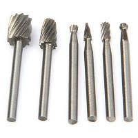 WLXY Вольфрамовый стальной сплав набор для резки по дереву 6шт комплект инструментов сверла Серебристый