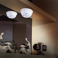 L0605 Инфракрасный человеческого тела индукционная Лампа Автоматический pir 6 светодиодов светло-6В Белый