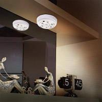 L0606 Инфракрасный человеческого тела индукционная Лампа Автоматический pir 6 светодиодов светло-6В Белый