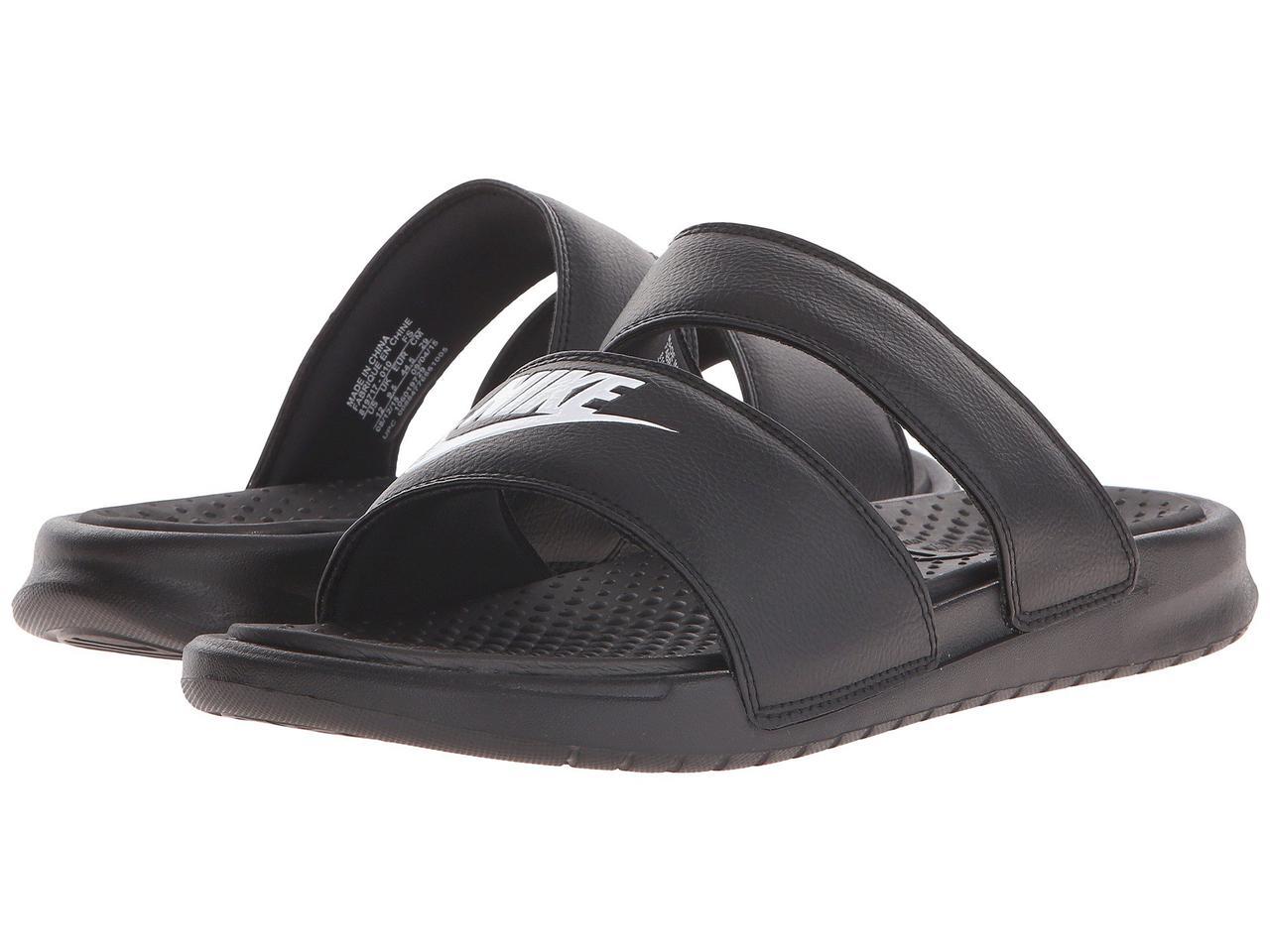 Сандали/Вьетнамки (Оригинал) Nike Benassi Duo Ultra Slide Black/White