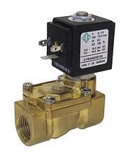 Электромагнитный клапан для воздуха 21WA4KOB130 (ODE, Italy), G1/2