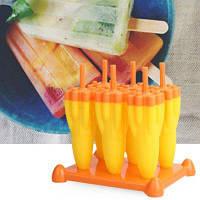 Форма для изготовления льда мороженого DIY в форме ракеты 6шт Случайный Цвет