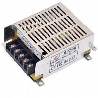 С-72-36 72 Вт 36В / 2А переключатель питания Драйвера для света водить и камеры видеонаблюдения (110-220В) Серебристый