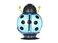 Ультразвуковий зволожувач повітря USB зі світлодіодним підсвічуванням Божа корівка  синій