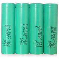 INR18650-25R 2500mAh 30A 3.7V 18650 литий-ионный аккумулятор 4 шт.