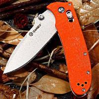 Ganzo G704-G Cкладной нож для использования в доме / на воздухе / на путешествии Оранжевый