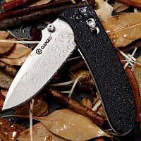 Нож ganzo g704 по праву тактический складной нож для дома / Открытый Кемпинг / Пешие прогулки / развлечения Чёрный