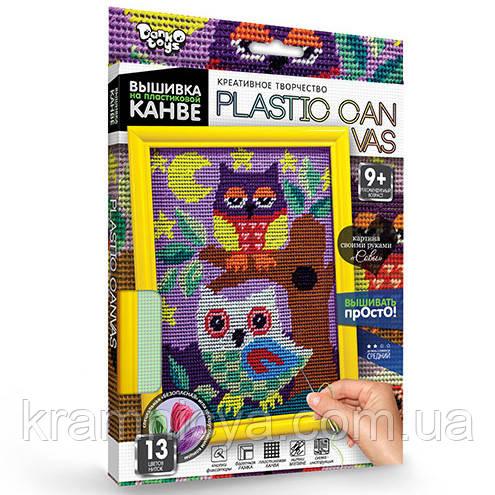 Вышивание на пластиковой канве Совы (PC-01-01)