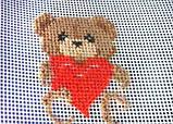 Вышивание на пластиковой канве Медвежонок (PC-01-03), фото 8