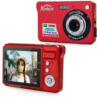 Amkov CDC3 цифровая камера 18.0MP 2.7-дюймовый TFT-экран 8-кратный цифровой зум 3.0МП CMOS датчик с высоким разрешением ACT-12609