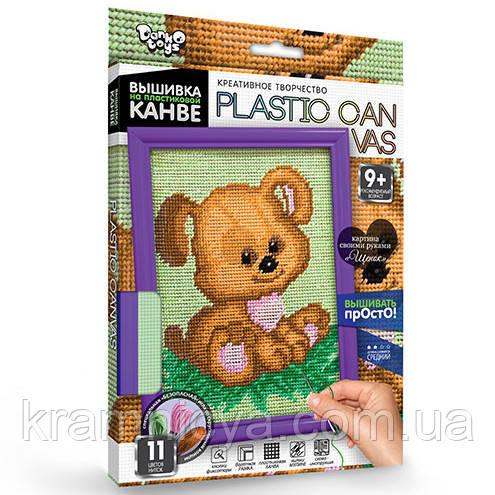 Вышивание на пластиковой канве Собачка (PC-01-06)