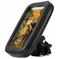 Водонепроницаемый чехол с держателем для телефона на руль велосипеда iPhone 6 5S 5C 5 Samsung Galaxy S4 Mini S3 Mini и т.д. L